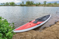 Stand up paddleboard Royalty Free Stock Photos