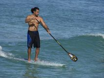 Stand~Up Paddling Stock Photo