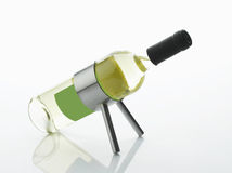 White Wine Bottle Royalty Free Stock Image