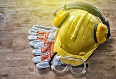 Standaardbouwveiligheid Stock Afbeelding