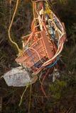 Standard électrique abstrait Photo libre de droits