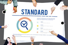 Standard Assurance Warranty Guarantee Concept Royalty Free Stock Photography