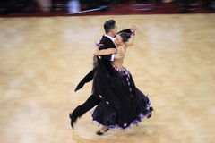 Standard ballroom dancing Stock Photography