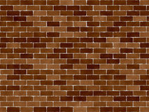 Standard Brick Wall. Perfect for background or textures vector illustration