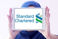 Standard Chartered company logo Stock Image
