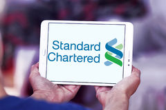 Standard Chartered company logo Stock Images