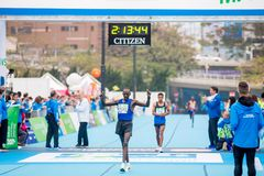 Standard Chartered Hong Kong Marathon 2018 Photographie stock