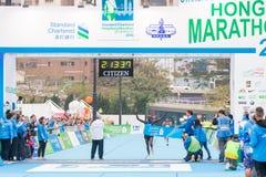 Standard Chartered Hong Kong Marathon 2018 Royalty Free Stock Image