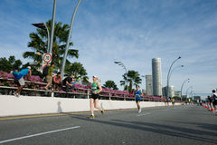 Standard chartered marathon singapore 2010 Royalty Free Stock Images