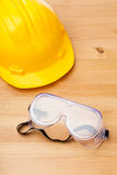 Standard construction safety equipment Stock Photos