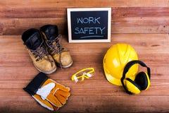 Standard construction safety stock photo