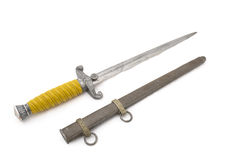 Standard dirk (dagger) of German officer Royalty Free Stock Images