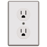 Standard Electrical Outlet Royalty Free Stock Photo