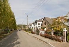 Standard European village Stock Images