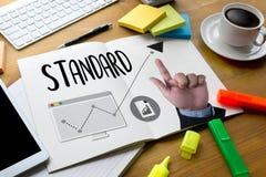 STANDARD iść zapewnienie jakości, Standardowa procedura operacyjna, I fotografia royalty free