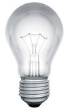 Standard light bulb template Royalty Free Stock Images