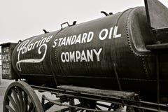Standard Oil Company gas tank stock image