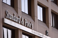 Standard & Poor's downgrade USA's debt raing Stock Photos