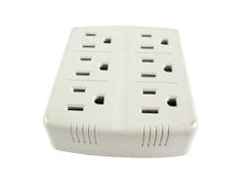Standard power outlet Stock Photo