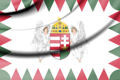 Standard of President of Hungary. Royalty Free Stock Photography
