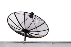 Standard satellite. On white background Stock Photos