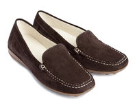 Standard shoes moccasins no name Stock Images