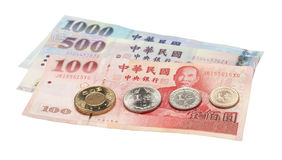 Standard Taiwanse Currency Royalty Free Stock Photos