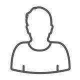 Standard User Icon Stock Photo