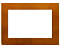 Standard Wood Frame Stock Photography