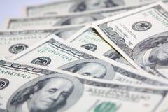 standarddollar miljon pengar usd Arkivbild