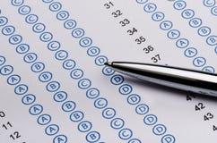 Standardized test Stock Photo