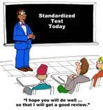 Standardized test today Royalty Free Stock Photo