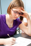 Standardized Testing in Education Royalty Free Stock Image