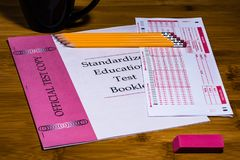 Standardized Testing in Educational Settings Royalty Free Stock Images