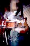 Standardowa bateryjna muzyki miniatura Obrazy Royalty Free