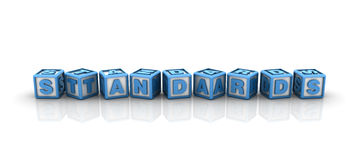 Standards Buzzword Royalty Free Stock Image
