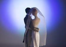Standardzahl der Braut und des Bräutigams Stockbild