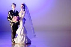 Standardzahl der Braut und des Bräutigams Lizenzfreies Stockbild