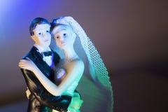 Standardzahl der Braut und des Bräutigams Lizenzfreie Stockfotografie