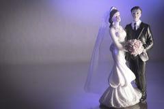 Standardzahl der Braut und des Bräutigams Lizenzfreie Stockfotos