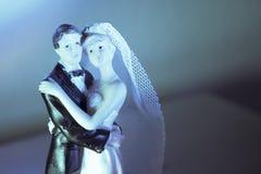 Standardzahl der Braut und des Bräutigams Lizenzfreie Stockbilder
