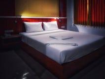 Standardzimmer im Hotel stockfoto