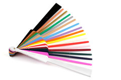 Standart stick colours Royalty Free Stock Photos