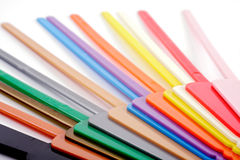 Standart stick colours Stock Images