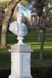Standbeeld in antieke Roman stijl Stock Foto