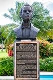 Standbeeld/Beeldhouwwerk van Jamaicaanse Nationale Held George William Gordon stock afbeelding