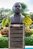 Standbeeld/Beeldhouwwerk van Jamaicaanse Nationale Held Marcus Garvey royalty-vrije stock afbeelding