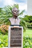Standbeeld/Beeldhouwwerk van Jamaicaanse Nationale Held Samuel Sharpe/Sam Sharpe stock afbeeldingen