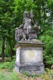 Standbeeld in Berlijn Royalty-vrije Stock Foto