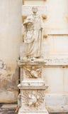 Standbeeld bij het museum van Villaborghese in Rome, Italië Royalty-vrije Stock Fotografie